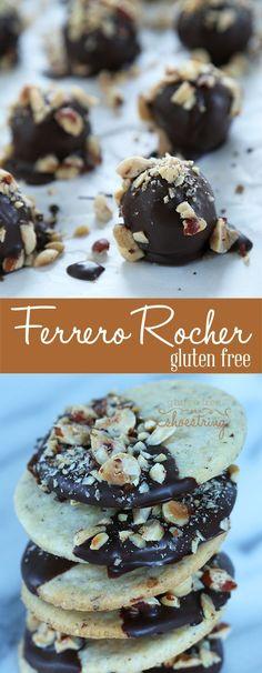 "Gluten Free ""Ferrero Rocher"" Hazelnut Chocolates—straight from Gluten Free Classic Snacks!"