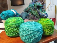 Fibermania: Yarn Dyeing Tutorial Number Two