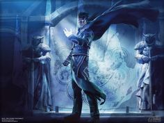 Magic the Gathering - Jace, the Living Guildpact Wallpaper