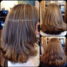 Highlights and layered cut
