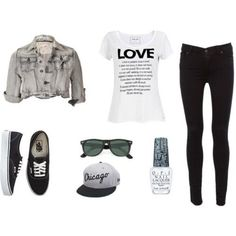outfits for teenage girls polyvore - Google Search...