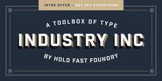 Industry Inc - Webfont & Desktop font « MyFonts