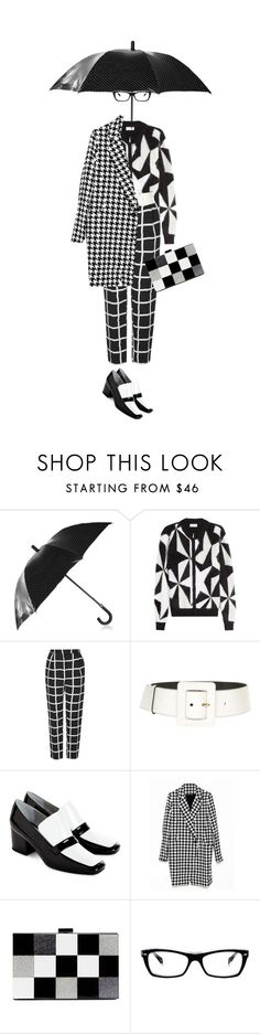 """""""A little bit op-art. Ver.3"""" by kjstylerussia ❤ liked on Polyvore featuring Dolce&Gabbana, Vionnet, Topshop, Yves Saint Laurent, Dorateymur, ALDO and Ray-Ban"""