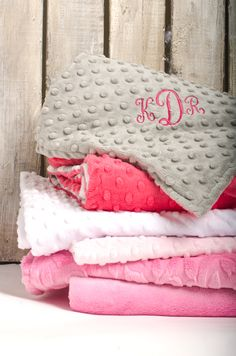 Inspiration for designing blankets for the baby girls! Custom baby blankets at Veeshee.com. #veeshee