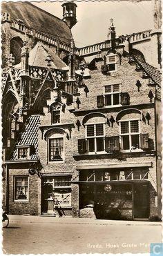 Breda - Grote Markt - 1955.