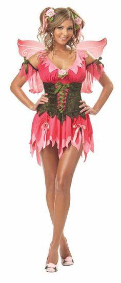 Amazon.com: California Costumes Women's Rose Fairy Costume: Clothing