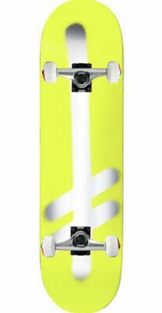Wood light Monopat/ín Skate Skateboard Deck Tabla Maple Series Letters Black
