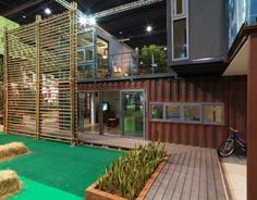 Amazing Spaces Built from Shipping Containers. Grown ups can live like the #BoxcarChildren.
