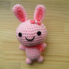 Amigurumi doll - pink bunny
