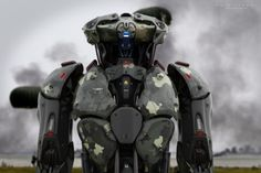ArtStation - Strike Force - 101st Airborne Division, Amin Akhshi More robots here.
