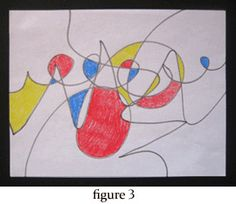 Automatic drawing is a process whereby the artist makes random marks on a surface. Then the artist adds colors, or possibly pursues the suggestion of familiar forms. This approach is extremely