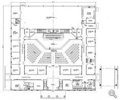 Church floor plans free designs free floor plans building plans church plan 152 lth steel structures malvernweather Images