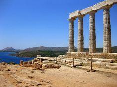 Poseidon's Temple - Athens Greece