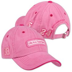Life is a Team Sport Pink Hat | Shop the Hendrick Motorsports ...