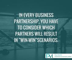 Always choice the best partnership. Your business strategy advisor and tax accountant can help you.  Facebook: https://www.facebook.com/PaulMartinCA Linkedin: https://www.linkedin.com/company/paul-martin-chartered-accountant-limited Twitter: https://twitter.com/PaulMartinCALtd  Business Strategy, Tax Accountant, Business Planning, Small Business Accounting, Accounting Software NZ, Starting A Business, Tax Calculator, GST, Tax Returns, Annual Accounts, Accounting Firms, Auckland, New Zealand