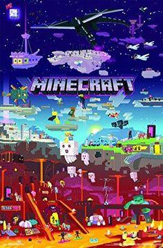 Minecraft World Poster