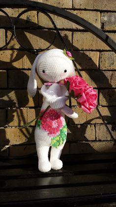 RITA the rabbit made by Ann De M. / crochet pattern by lalylala