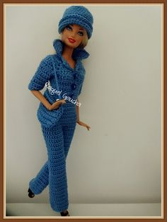 #Doll #Macacão #Barbie #Crochet