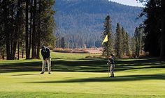 Wawona golf course in Yosemite National Park