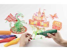 描いたものが立体になる!?光で固めて3Dアートがつくれる不思議なペンが登場 | ストレートプレス:STRAIGHT PRESS - 流行情報&トレンドニュースサイト