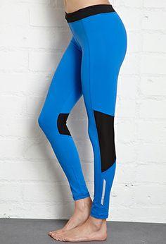 Reflective Skinny Performance Leggings   FOREVER21 - 2000051919