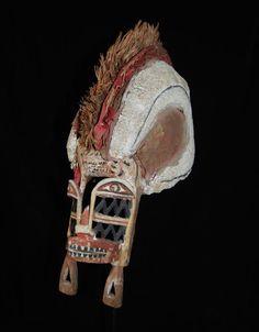 A Fine and Early New Ireland Tatanua Mask,