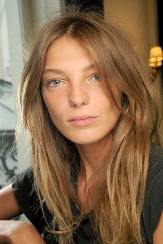 Daria Werbowy, clean and natural.