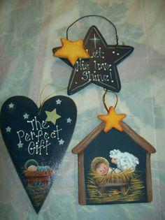 Manger ornaments