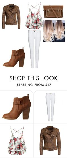 """""""Untitled #282"""" by dougherty-jenny ❤ liked on Polyvore featuring Charlotte Russe, Burberry, VILA, The Cambridge Satchel Company, women's clothing, women, female, woman, misses and juniors"""