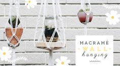 """มาถัก """"มาคราเม่"""" ทำสวนแขวนน่ารักกัน (Macramé Wall Hanging)"""