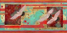 Maigure-shon - Migration 84cm x 152cm, 2015, Nerina Lascelles