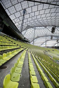 Frei Otto. Olympic Stadium. Berlin