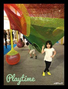 Lil Miss K playtime #houbiispot #3DMaze