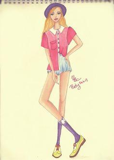 #drawgirl