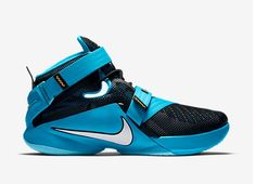 Lightweight Lockdown with Nike Zoom LeBron Soldiers 9 Basketball Shoes