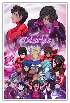 DIARIES POSTER OMG this is so cool (✪▽✪)
