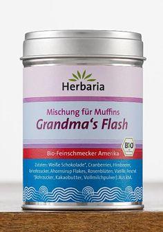 Grandma's Flash Für Muffins, Kuchen oder Pancakes. Perfekt zu heißen Milchgetränken