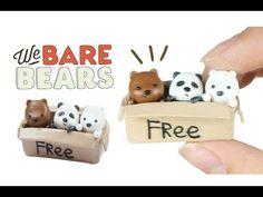 DIY Clay 'WE BARE BEARS in a Box'  - YouTube