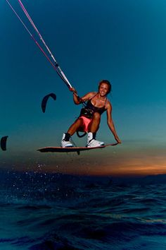 Colleen riding boots #kitesurf #girl #kitegirl
