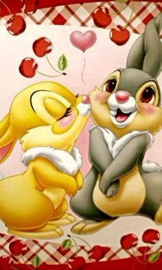 Bambi Disney, Disney Mickey Mouse, Disney Love, Disney Magic, Disney Art, Cute Bunny Cartoon, Cute Cartoon Pictures, Disney Pictures, Cartoon Kids