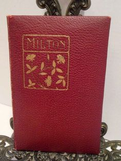 The Poetical Works of John Milton A L Burt Company Paradise Lost Regained Poems