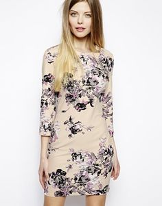 ASOS Floral Shift Dress $68.00 (sale) I'm not a fan of floral or fluorescent colors but this dress also comes in a lime color and this floral pattern looks pretty toned down to me.