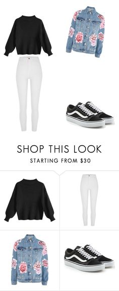 """casual"" by ikatsamaki on Polyvore featuring River Island, Topshop and Vans"