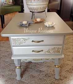 A painted beauty by Unique Reasons using Paint Couture!(TM) #painted #furniture #paintcouture