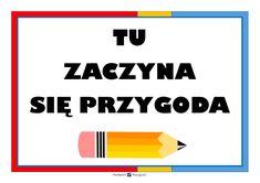 PLAKAT NA DRZWI KLASY powitanie Tech Companies, Company Logo, Logos, School, Child, Diy, Boys, Kid, Bricolage