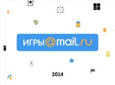 Icons for the presentation mail.ru Group