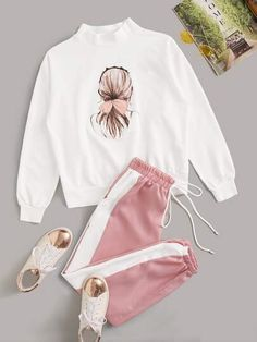 Girls Fashion Clothes, Teen Fashion Outfits, Swag Outfits, Cute Fashion, Kids Outfits, Cute Lazy Outfits, Pretty Outfits, Stylish Outfits, Looks Adidas