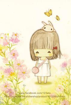 Character & Co - Ato Recover Images Kawaii, Cute Images, Cute Pictures, Arte Do Kawaii, Kawaii Art, Art And Illustration, Cartoon Pics, Cute Cartoon, Image Deco
