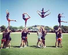 Cheer Took me a minute, but LOVE the idea