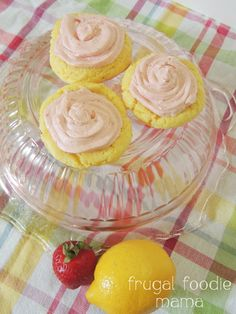 Strawberry Lemonade Cookies are so delicious!